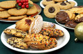 Assorted Christmas Cookies Royalty Free Stock Photo
