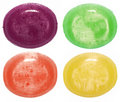 Assorted colorful candies Stock Image