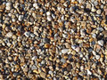Assorted colorful smooth pebbles beach Royalty Free Stock Photography