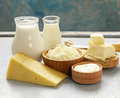 Assorted Dairy Products Milk, ...