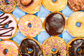 Assorted donuts Stock Photos