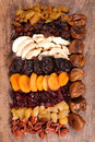 Assorted dried fruit Royalty Free Stock Photo
