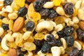 Assorted dried fruits healthy living eating concept Royalty Free Stock Photo