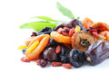 Assorted dried fruits Royalty Free Stock Photo