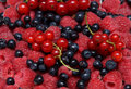 Assorted fresh berries Royalty Free Stock Photo