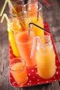 Assorted fruit juice Royalty Free Stock Photo