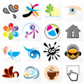 Assorted Icons Royalty Free Stock Image
