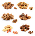 Assorted nuts Royalty Free Stock Photography