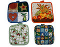 Assorted Potholders Royalty Free Stock Image