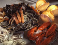 Assorted shellfish Stock Photography