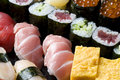 Assorted sushi Royalty Free Stock Photo