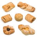 Assorted sweet baked products Royalty Free Stock Photo