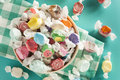 Assorted Sweet Saltwater Taffy Royalty Free Stock Photo