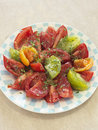 Assorted tomato salad Royalty Free Stock Photography
