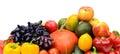 Assortimento della frutta e delle verdure fresche Immagini Stock