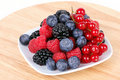 Assortment of  berries Stock Photo