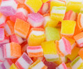 Assortment of colorful fruit jelly candy Royalty Free Stock Photo