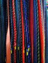 assortment and colorful silk ties Royalty Free Stock Photo