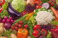 Assortment of fresh vegetables Royalty Free Stock Photo