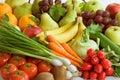 Výber z čerstvý zelenina a