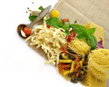 Assortment Of Italian Pasta Stock Photo
