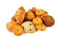 Assortment of pastries and cookies. Selective focus Royalty Free Stock Photo