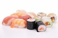 Assortment of sushi Royalty Free Stock Photos