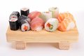 Assortment of sushi Stock Photo