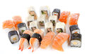 Assortment sushi Royalty Free Stock Photo