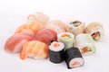 Assortment of sushi Stock Image