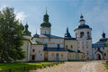 Assumption Cathedral from the porch (1497 - 1791) Royalty Free Stock Photo