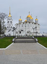Assumption cathedral russian orthodox church of in vladimir russia photo taken on may Royalty Free Stock Photos