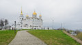 Assumption cathedral in vladimir russia photo taken on may Stock Photos