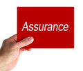 Assurance Concept Royalty Free Stock Photo
