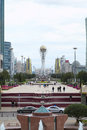Astana holiday in the central square Royalty Free Stock Photo