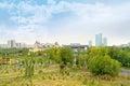 Astana. Municipal landscape Royalty Free Stock Image