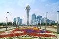 Astana. Municipal landscape Stock Photos