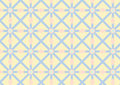 Asterisk, Circle and Triangle Pattern on Pastel Color Stock Images