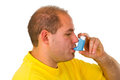 Asthma Royalty Free Stock Image