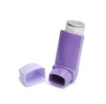 Asthma inhaler Stock Photos