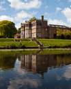 Astley Hall Stock Photo