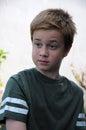 Astonished boy Royalty Free Stock Photo