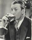 Astonishing beer Royalty Free Stock Photo