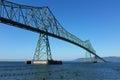 Astoria-Megler Bridge in Portland, Oregon Royalty Free Stock Photo