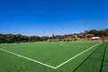 Astro Hockey Field Green Blue Royalty Free Stock Photo