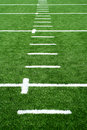 Astro turf football field Royalty Free Stock Photo