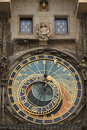 Astrological clock in Prague, Czech Republic Stock Photography