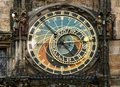 Astrological Clock Tower, Old Tower Square, Prague, Czech Republic Royalty Free Stock Photo