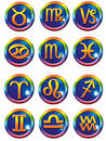 Astrological symbols Royalty Free Stock Photo