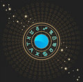 Astrological zodiac signs Stock Images